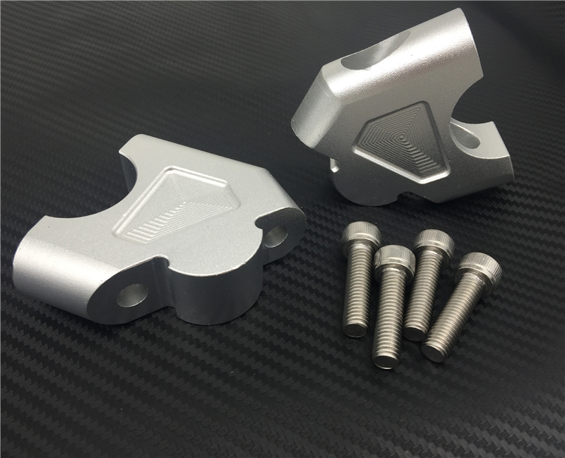 R1200GS LC Motorcycle Drag Handle Bar Clamps Handlebar Risers CNC Aluminum for BMW R1200GS LC ADV S1000XR 2014 2015 2016 2017 цена 2017