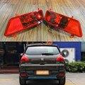 2 pcs/par RH e LH sem lâmpadas pára choque traseiro de nevoeiro luzes lâmpadas para Peugeot 3008