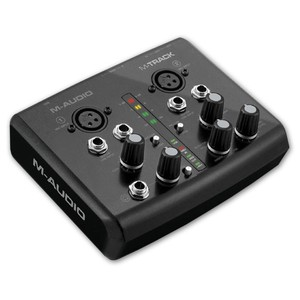 Image 2 - Boutique Original M audio m track usb audio interface sound card external 2 in 2 out professional for recording free shipping