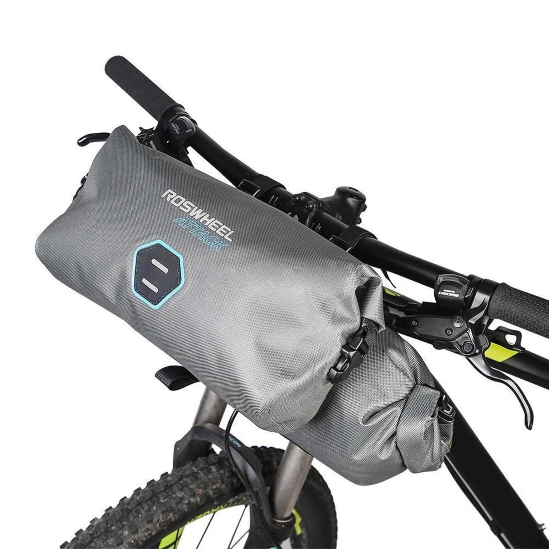 FLGT-ROSWHEEL 111458 12L TPU Waterproof Cycling Bag MTB Bike Top Front Handlebar BagFLGT-ROSWHEEL 111458 12L TPU Waterproof Cycling Bag MTB Bike Top Front Handlebar Bag