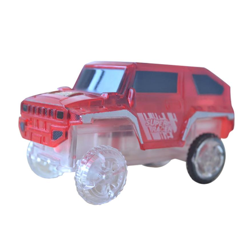 presents for the new year 2018 Electronics Special Car for Magic Track Toys With Flashing Lights Educational best gift D30