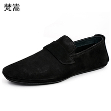 Mens genuine leather driving loafer shoes men breathable all-match cowhide mens casual shoes designer shoes men high quality bimuduiyu minimalist soft knot loafer flat shoes for men s driving high quality breathable suede leather brand new casual sale