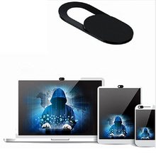 Nuevo Protector de la cámara web para iPhone Android lente de la Cámara imán Protector deslizante para iPad PC Mac Notebook Laptop Tablet privacidad(China)