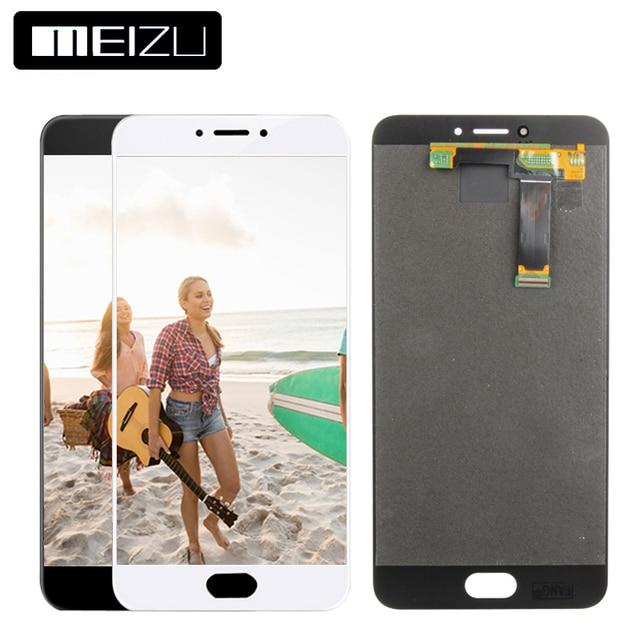 100% тестирование 5.5 дюймов 1920x1080 Для Meizu MX6 ЖК-дисплей Дисплей Сенсорный экран планшета Ассамблеи Запчасти для авто для Meizu MX6 Дисплей
