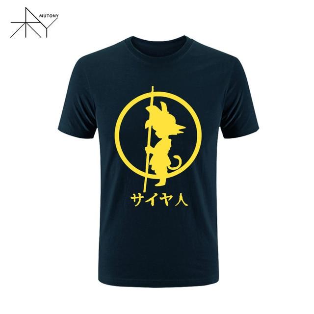 Printed Plus Size Brand Fashion Dragon Balls Anime Son Goku Cosplay T-shirts Tops Tees Short Sleeve Casual T Shirts