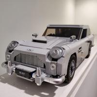 Creator 21046 Technic James Bond Aston Martin DB5 Building Blocks Set Bricks 007 Cars Model Children Toys Compatible Legoings