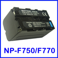 Battery for Sony NP-F750, NP-F770 InfoLITHIUM L Series and HDR-FX1,HDR-FX1E,DCR-VX2000,DCR-VX2100,DCR-VX2100E Handycam Camcorder
