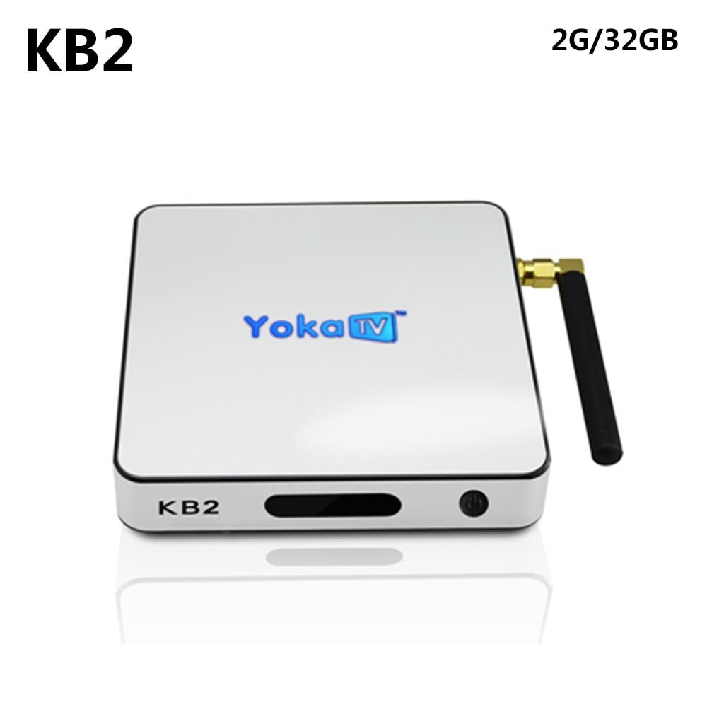 KB2 Amlogic S912 Octa core 2GB 32GB Android 6.0 Bluetooth 4.0 1000M LAN Kodi 4K Set Top Box Media Player yokatv kb2 amlogic s912 octa core android smart tv box 2gb 32gb android 6 0 bt 4 0 1000m lan 4k smart media player set top box