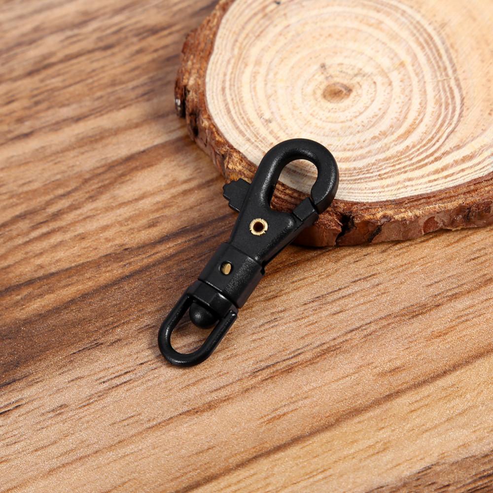 5pcs Outdoor Tactic 360°Swivel Mini Keychain Carabiner Clip Hanging Buckle Hook