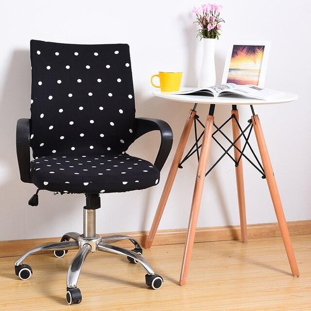 Office спандекс крышка стула чехол S/M/L кресло Обложка вращающийся стул эластичные сиденья fundas sillas comedor elastica