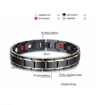 Abrray Magnetic Hematite Copper Man Health Care Jewelry 4