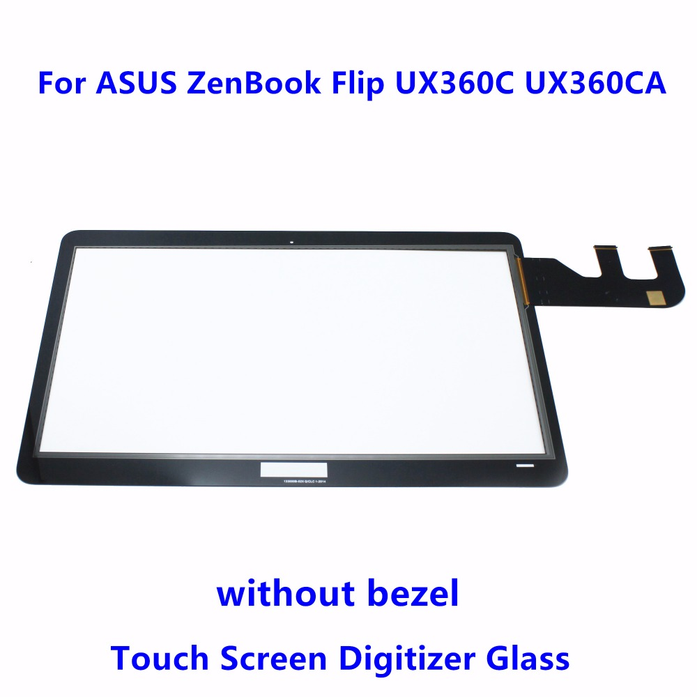 13.3 Touch Screen Digitizer Glass Panel Replacement parts Touchpads For ASUS ZenBook Flip UX360C UX360U UX360CA UX360CA-4024T 11 6 touch screen digitizer glass panel replacement repairing parts for sony vaio pro 11 svp112 series svp121m2eb svp11215pxb