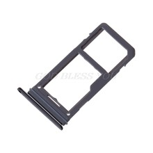 Mobile Phone SIM SD Card Single/ Dual Slot Tray For Samsung Galaxy S8 S8 Plus(China)