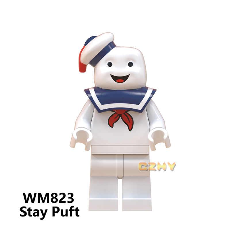 Blocos de Construção Ponto Elliott ET Estrangeiro Gremlins Gizmo Angie Stay Puft WM825 Sonic Tarja Pop Figuras Brinquedos para Crianças