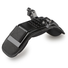 CAMVATE Soporte Universal para hombro/hombrera con abrazadera de varilla de 15mm para DSLR /Video/videocámara, sistema de soporte para cámara de hombro