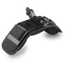 CAMVATE אוניברסלי כתף הר/כתף כרית With15mm מוט מהדק עבור DSLR/וידאו/מצלמת וידאו מצלמה כתף Rig תמיכה מערכת