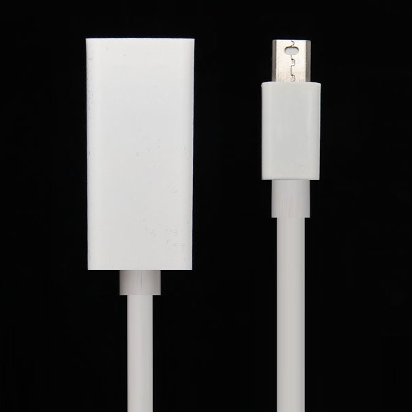 High Quality Mini DisplayPort Display Port DP to HDMI Adapter Cable For Apple Mac Macbook Pro Air