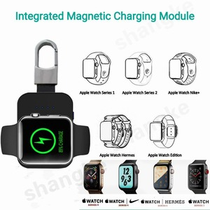 Image 3 - For Apple Watch Magnetic Charging Portable Wireless Pocket Sized Keychain Built in Power Bank, Compatible with Apple 4 3 2 1