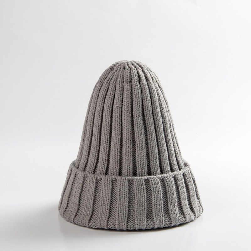 เด็กถักหมวกเด็กทารกเด็กทารกหมวกเด็กทารกฤดูใบไม้ร่วงสาวฤดูหนาวหมวกเด็กMuts bonnet Enfant