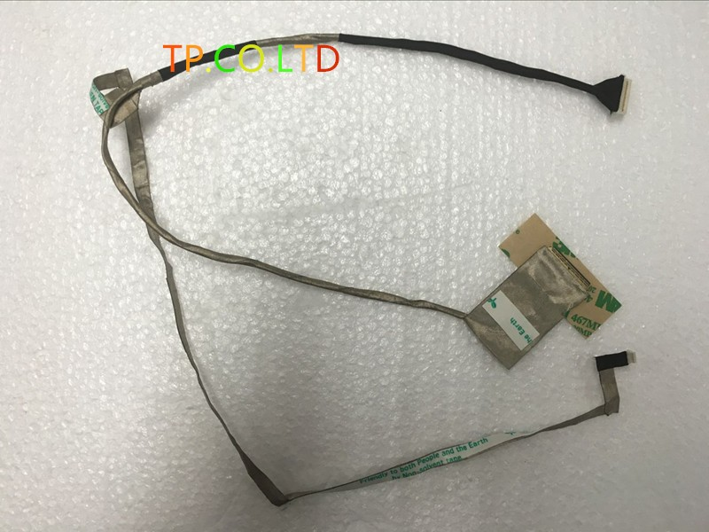 5 PCS New Free Shipping LCD LVDS CMOS Video Flex Cable For Lenovo G570 G575 DC020015W10 F0866 W