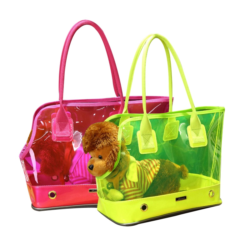 Dogs Carriers Dogs Carrying Bags PVC Waterproof Puppy Cats Handbags Fashion Small Cats Carrying Shoulder Bags Dog SuppliesDogs Carriers Dogs Carrying Bags PVC Waterproof Puppy Cats Handbags Fashion Small Cats Carrying Shoulder Bags Dog Supplies