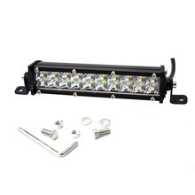 ECAHAYAKU 1pcs LED work Light Bar double Row 7 inch 60W For SUV 4X4 ATV jeep 4WD boat truck car styling Off-Road