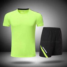 b577e1dae1 2017 mulheres dos homens Atleta correndo conjuntos shorts treino kits  uniformes de futebol basquete jerseys camisas de esportes .