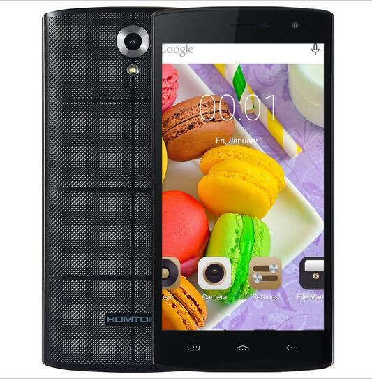 Original homtom mtk6580a ht7 android 5.1 quad core teléfono móvil 1G RAM 8G ROM