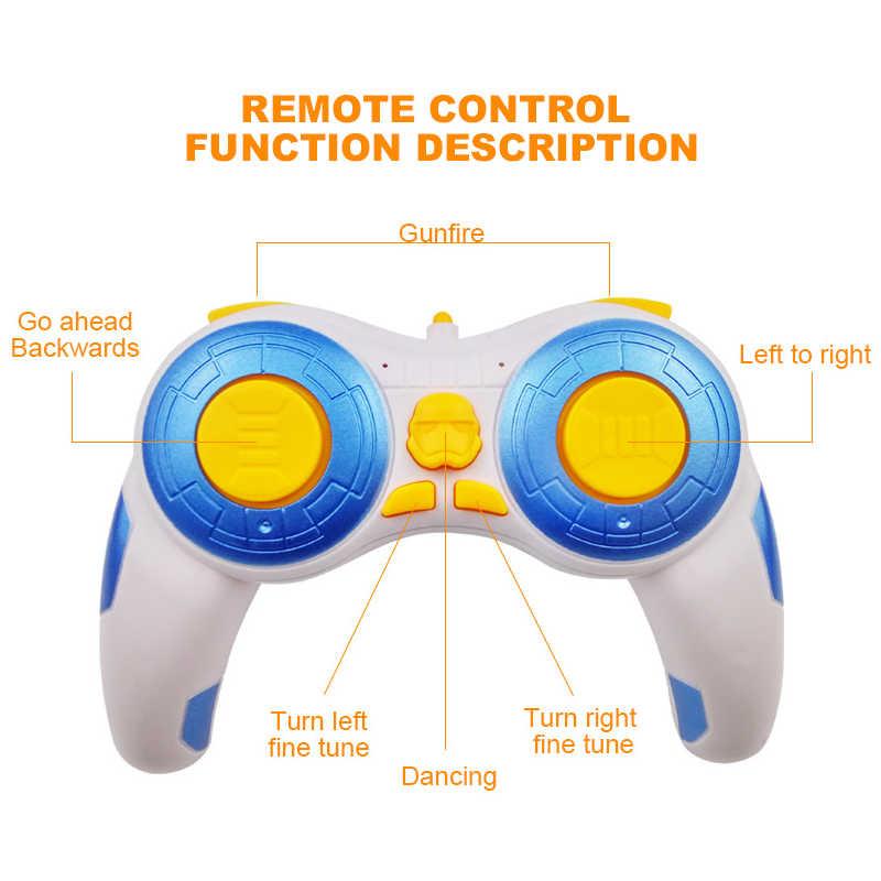 Entrega rápida, actualización del modelo Star Wars, Robot droide BB-8 RC BB8 Ball, Robot inteligente, chico juguete para regalo con sonido a distancia de 2,4G