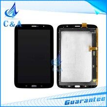 Piezas de repuesto para samsung galaxy note 8.0 n5100 blanco negro pantalla lcd de pantalla táctil digitalizador con 1 unidades el envío libre