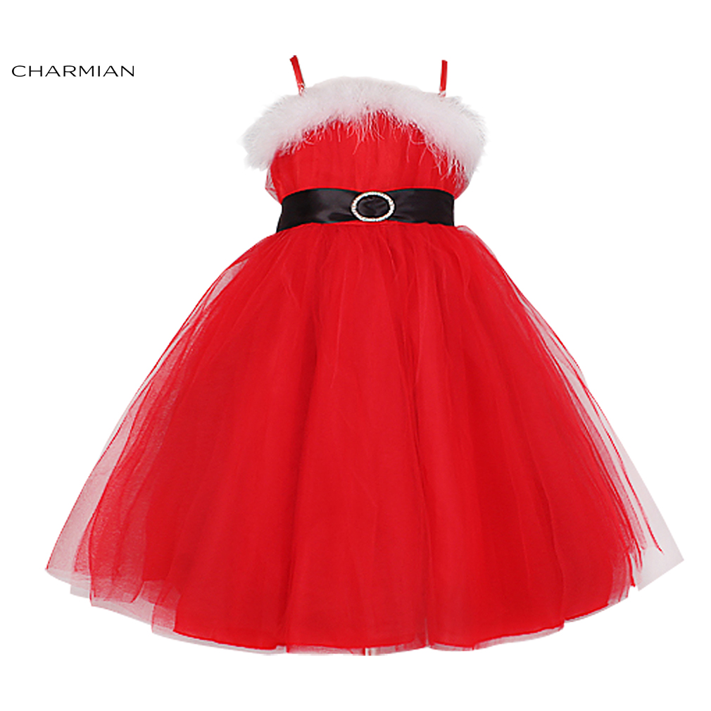Charmian Beauty Girl Princess Christmas Costume for Kids Princess Fancy Dress Carnival Cosplay Evening Party Clothing