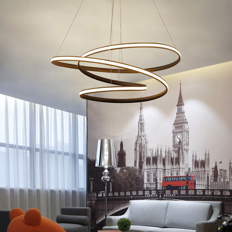 Modern led Pendant Light for Kitchen Dining Room Living Room Suspension luminaire Hanging White Black Bedroom Pendant Lamp avize 2016 time limited suspension luminaire basons fashion living room pendant light modern bedroom lamp brief crystal dining lamps