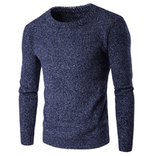 China Imported Winter Style Sweaters For Men Solid Color Vintage Mens Cashmere Sweaters Pullover High Quality Mens Clothes S2347