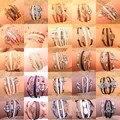 OBABY Jewelry European Fashion Women Jewelry Exaggerate Imitation Many Style Anchor Animal Rope Chain Bracelets