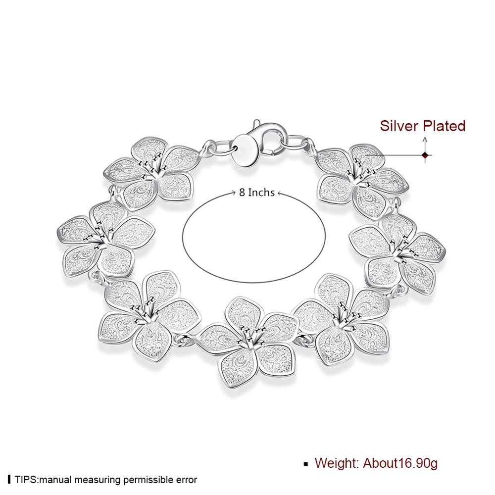 SHE WEIER chain link bracelet and bangles silver charm friendship bracelets for women gifts for girls femme bizuteria braslet