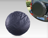 DWCX Universal Car Spare Wheel Tire Tyre Soft Cover 33