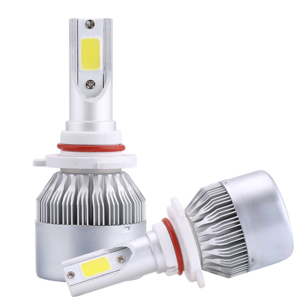 Car Styling Led H4 H7 H11 hb4 COB Led Car Headlight Bulbs Kit 80W 8000LM H1 9005 Automobiles Led 12V Headlamp 6000K Fog Light