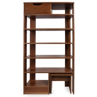 High Quality Wooden Shoe Cabinet Storage Rack Household Multilayer Shoes Organizer with Drawers Space saver Home Furniture