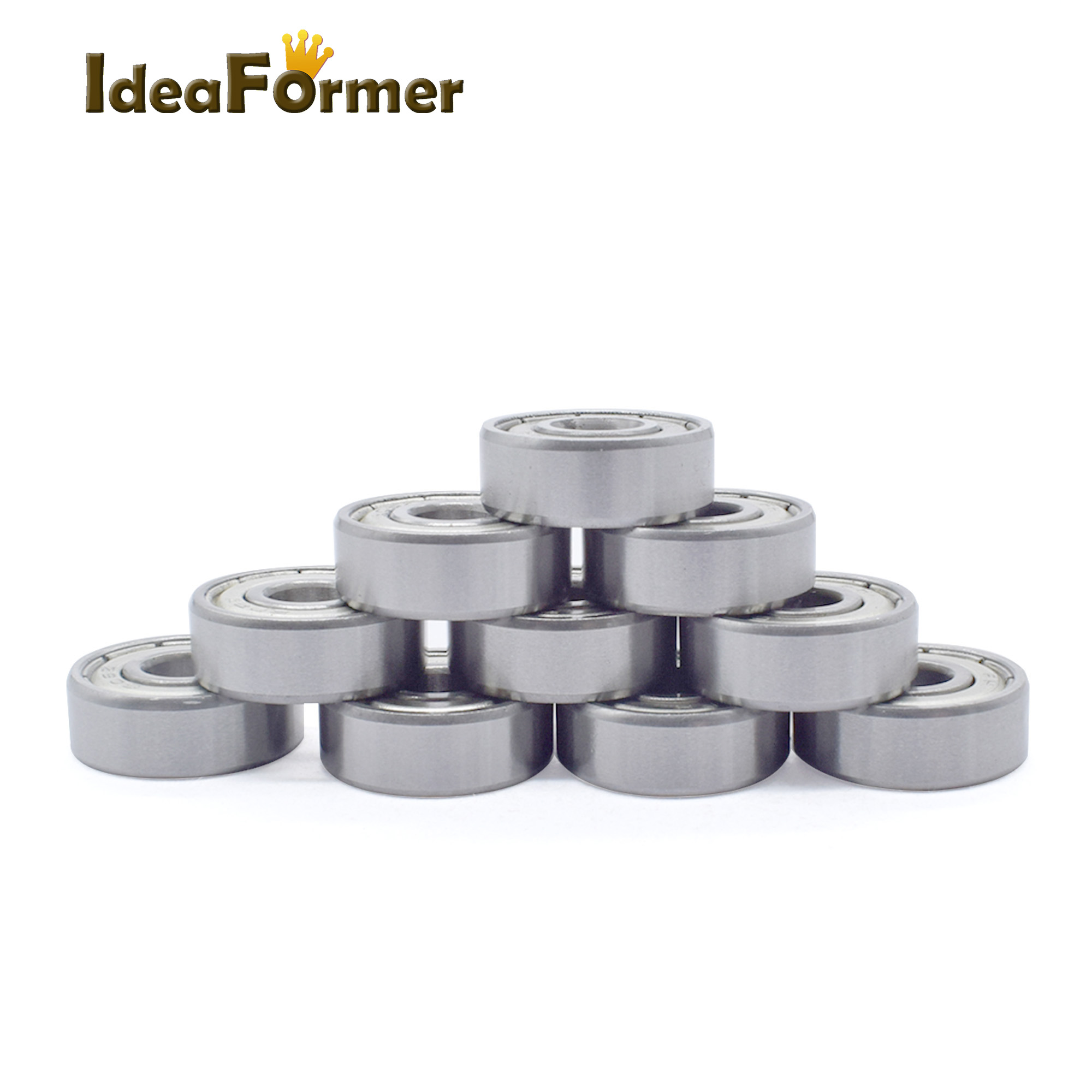 10pcs ABEC 7 <font><b>625ZZ</b></font> Ball Bearing Deep Groove bearing 5*16*5 mm Miniature deep groove image