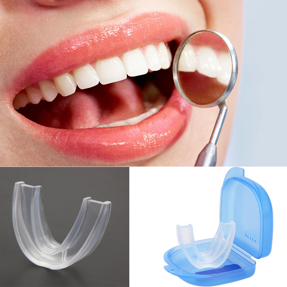 Silicone Mouth Guard For Teeth Grinding Anti Snoring Sleep Mouth