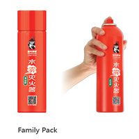 Portable mini Water based Fire Extinguishing with Carbon 4 Technology Oxygen Insulation Temperature Reduction Complete Covering