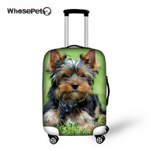 WHOSEPET Travel Puppy Luggage Cover Dog Elastic Baby Suitcase Protective animal Cover Case Travel Accessories Christmas Custom