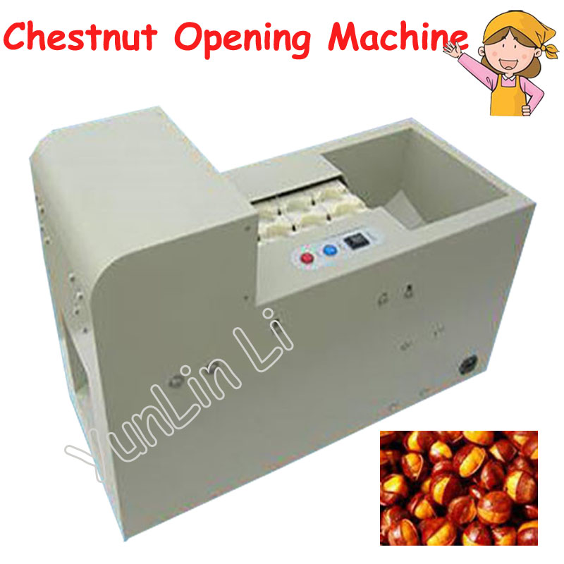 Automatic Chestnut Mouth Opening Machine Chinese Chestnut Cutting Machine Chestnut Incision HBS-BLK-D шатура леон joy chestnut