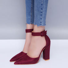 Размера плюс женские босоножки на высоком каблуке нескользящая