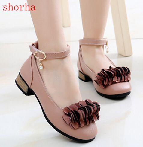 shorha Kids Wedding Shoes Princess Girl
