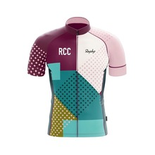 2019 RCC RAPHP Mens Cycling Jersey Breathable fabrics Short Sleeve Maillot Ciclismo Summer Road Bike Bicycle Shirts 3 color