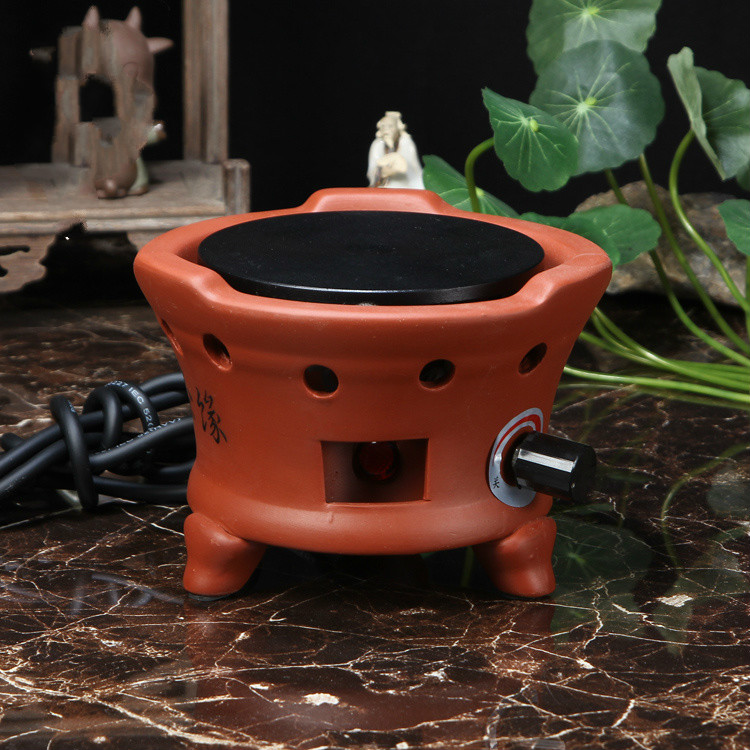 цена на Hot Plates The electric ceramic stove mini tea hot oven is not radiated ultra-quiet iron pot glass special cooking