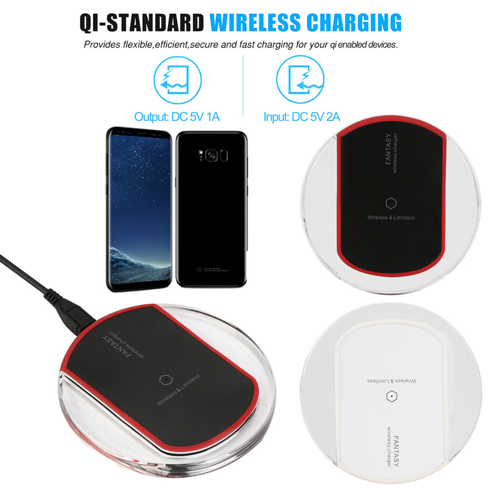 HIPERDEAL Qi Wireless Power Charger Charging Pad For