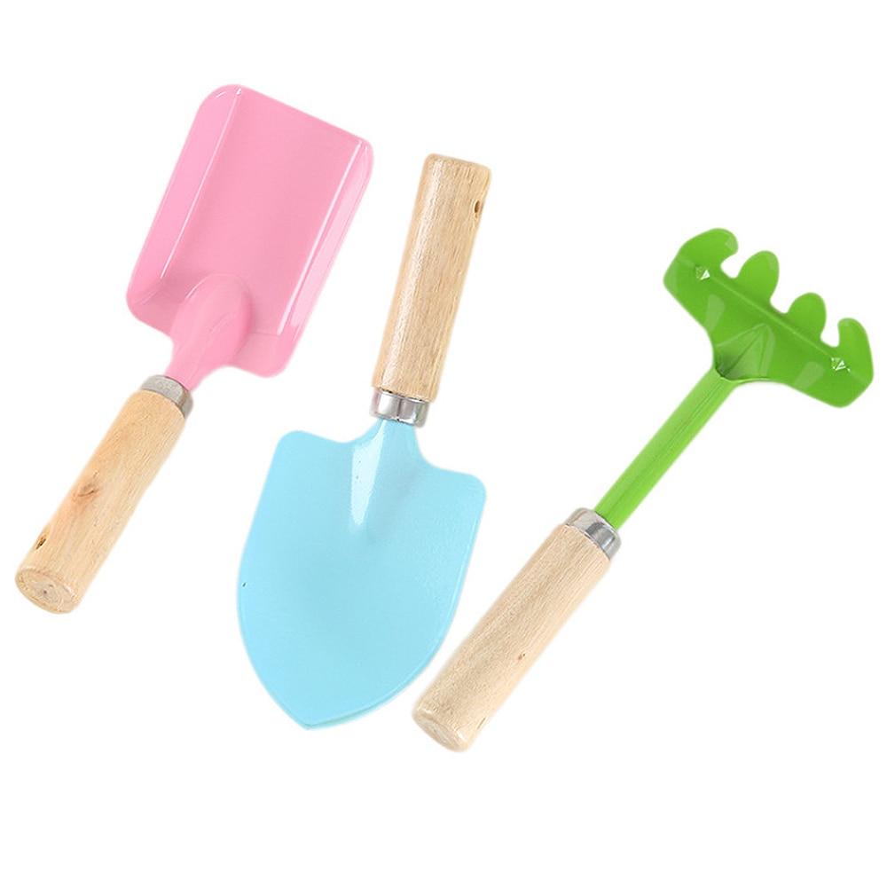 3Pcs Sand Beach Shovel Toys Children Colored Plastic Shovel Model For Kids Outdoor Fun Beach Tool Demountable Toy Hot Sale