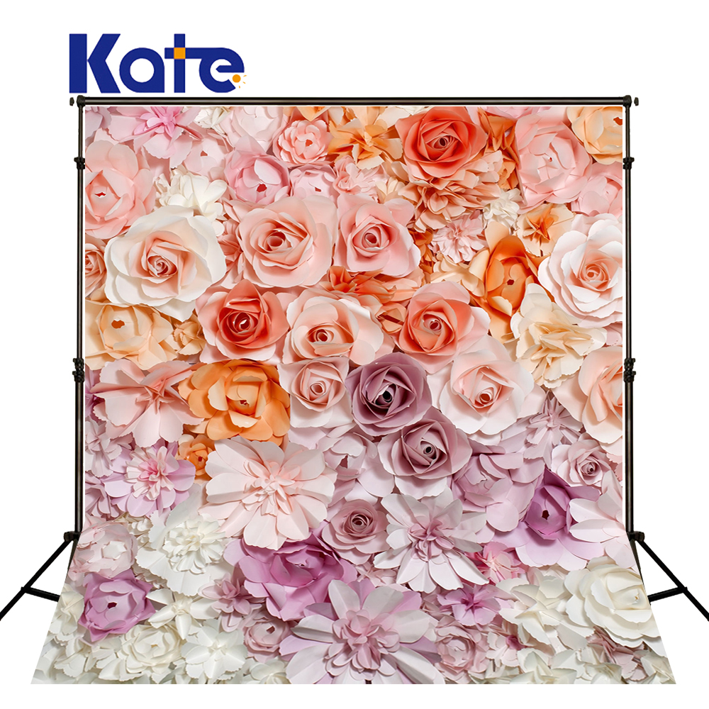 KATE Valentine's Day Background Flower Wall Photography Backdrops Naturism Children Photos Flower Wall Backgrounds for Studio spring background photography for kids photos green screen photography backdrops children photo props custom made backgrounds